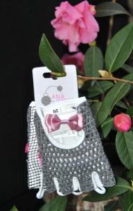 Cute Ladies Cycling Glove: The Bow Peep by Ana Nichoola