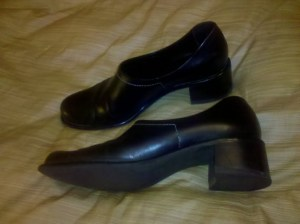 Franco Sarto black shoes