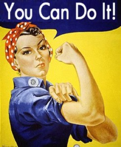 "Rosie the Riveter ""You Can Do It!"" Poster"