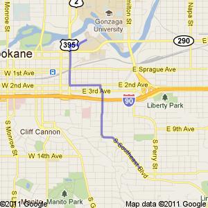 Google map.