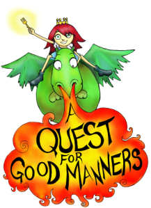Cover illustration for the book Quest for Good Manners
