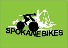 Spokane Bikes logo